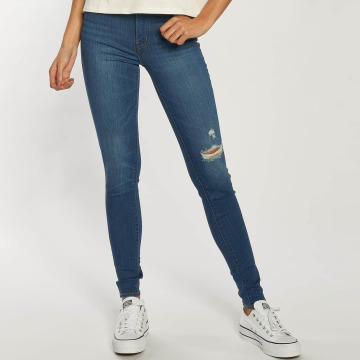 Levi's® Jeans de cintura alta Mile High azul