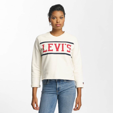 Levi's® Pullover Raw Graphic weiß
