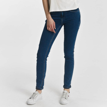 Levi's® Skinny Jeans Line 8 Mid niebieski