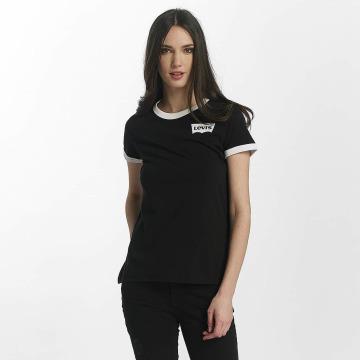 Levi's® t-shirt Perfect Ringer zwart