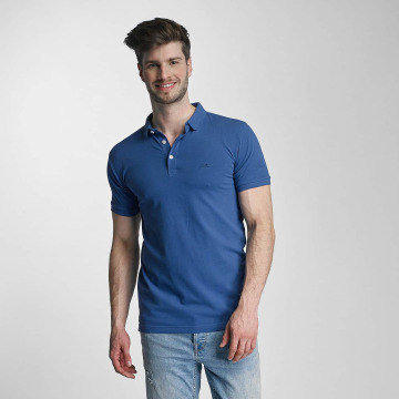 Lindbergh Koszulki Polo Stretch niebieski