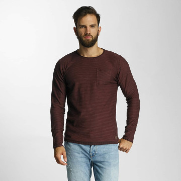 Lindbergh Pullover Striped Loose Knit rot