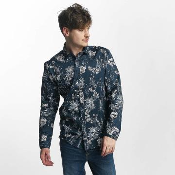 Lindbergh Skjorte All Over Printed blå