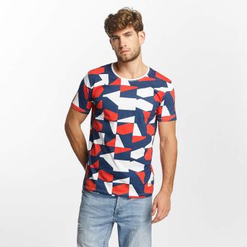 Lindbergh T-Shirt Allover Printed blau