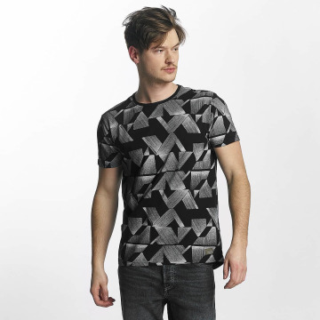 Lindbergh T-Shirt All Over Printed schwarz
