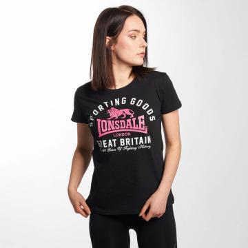 Lonsdale London Camiseta Stockport negro