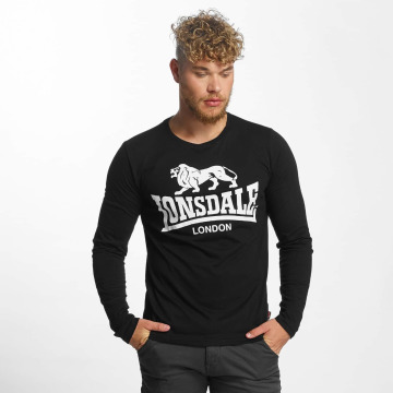 Lonsdale London Longsleeve Blaich schwarz