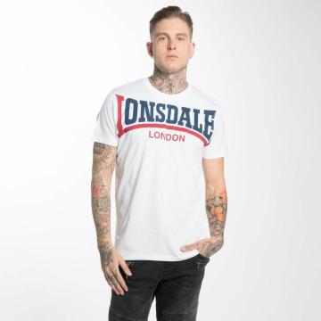 Lonsdale London T-shirt Creaton bianco