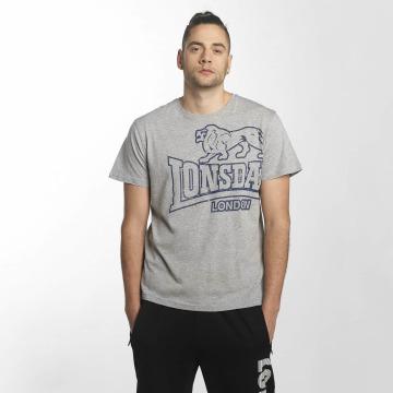 Lonsdale London t-shirt Langset grijs