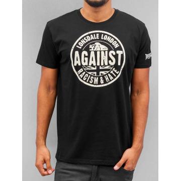 Lonsdale London T-shirt Against Racism nero
