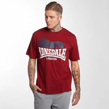 Lonsdale London t-shirt Berry Head rood
