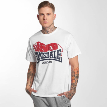 Lonsdale London T-Shirt Berry Head weiß
