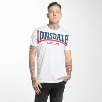 Lonsdale London T-Shirt Creaton white