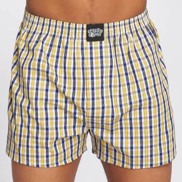 Lousy Livin  Shorts boxeros Lousy Check amarillo