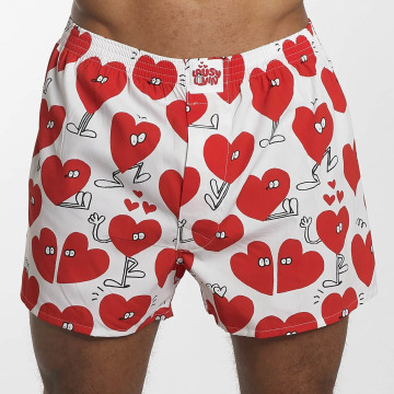 Lousy Livin  Shorts boxeros Valentines blanco