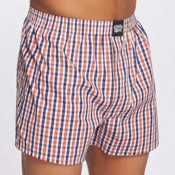 Lousy Livin  Shorts boxeros Lousy Check naranja
