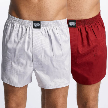 Lousy Livin Boxer Lousy 2 Pack rosso