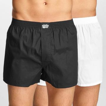 Lousy Livin Boxershorts Plain 2 Pack schwarz