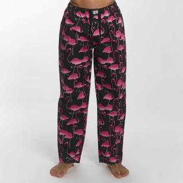 Lousy Livin Jogginghose Flamingo schwarz