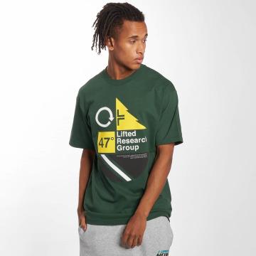 LRG Футболка United Lines зеленый