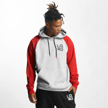 LRG Hoody Research Collection Raglan grau