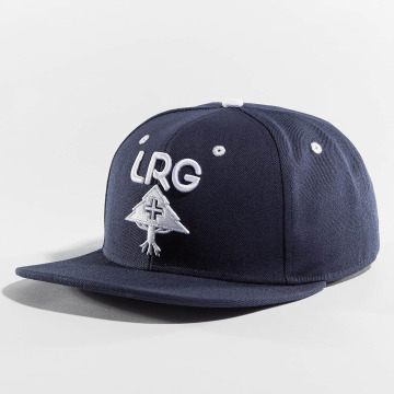 LRG Snapback Cap Research Group blau