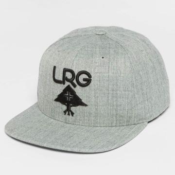 LRG Snapback Cap Research Group grau