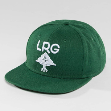 LRG snapback cap Research Group groen