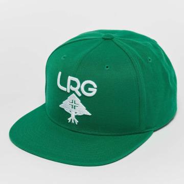 LRG Snapback Cap Research Group grün
