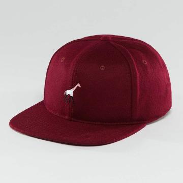 LRG snapback cap Giraffe United rood