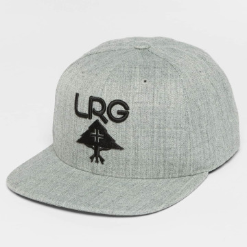 LRG Snapback Caps Research Group harmaa