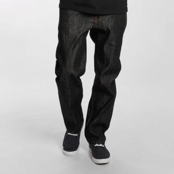 LRG Straight Fit Jeans RC C47 čern