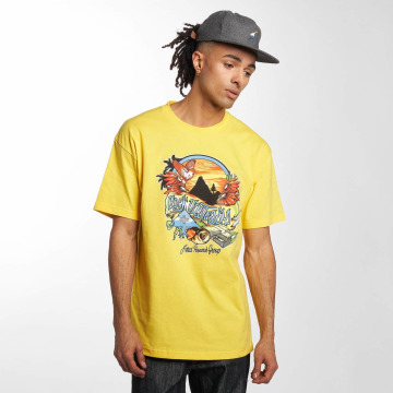 LRG t-shirt Rock Unsteady geel