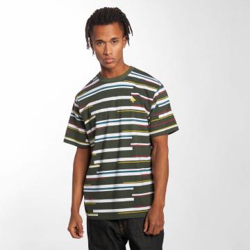 LRG T-Shirt Tech Stripe grün