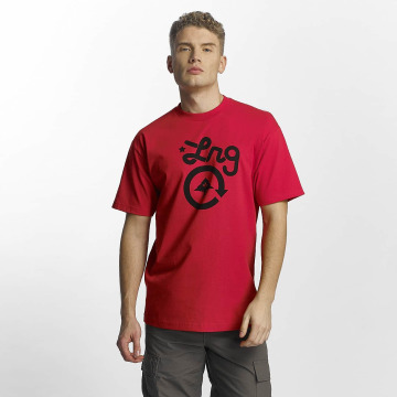 LRG T-shirt Cycle Logo rosso