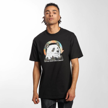 LRG t-shirt Panda Friend zwart