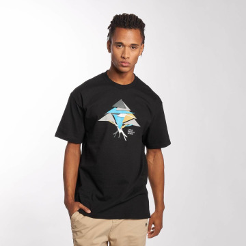 LRG t-shirt Tech Triangles zwart