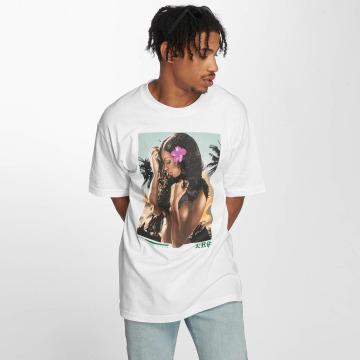 LRG T-Shirty Heart N Soul bialy