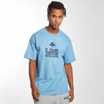 LRG T-Shirty Research 47 niebieski