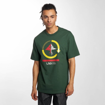 LRG T-Shirty Cycle Mission zielony