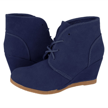 Lucky Shoes Stiefelette Louna blau