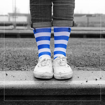 LUF SOX Носки Sailor синий
