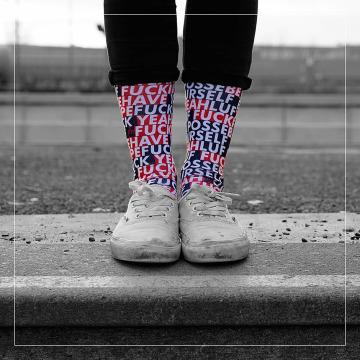 LUF SOX Носки Posse цветной