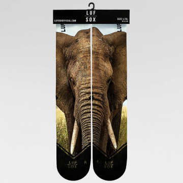 LUF SOX Calcetines Classics Elephant colorido