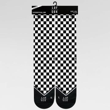 LUF SOX Chaussettes Classics Chessboard noir