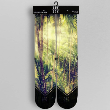 LUF SOX Skarpetki Jungle kolorowy
