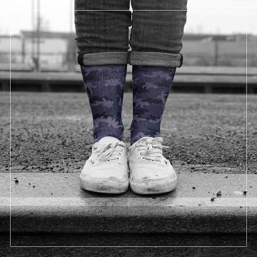 LUF SOX Socken Camo Ash camouflage