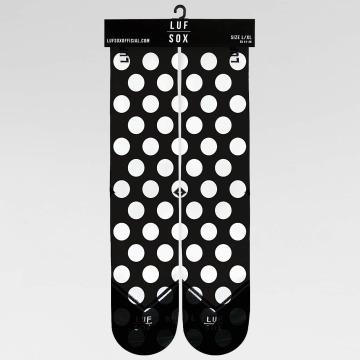 LUF SOX Sokken Classics Big Dots zwart