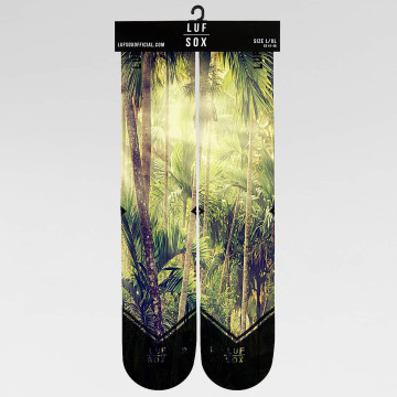 LUF SOX Sukat Classics Jungle vihreä
