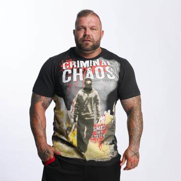 Mafia & Crime Camiseta Criminal Chaos negro